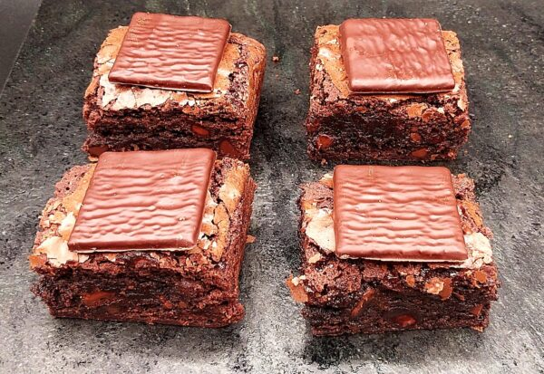 Brownie Slice Mint