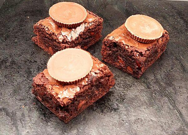 Brownie Slice Peanut Butter